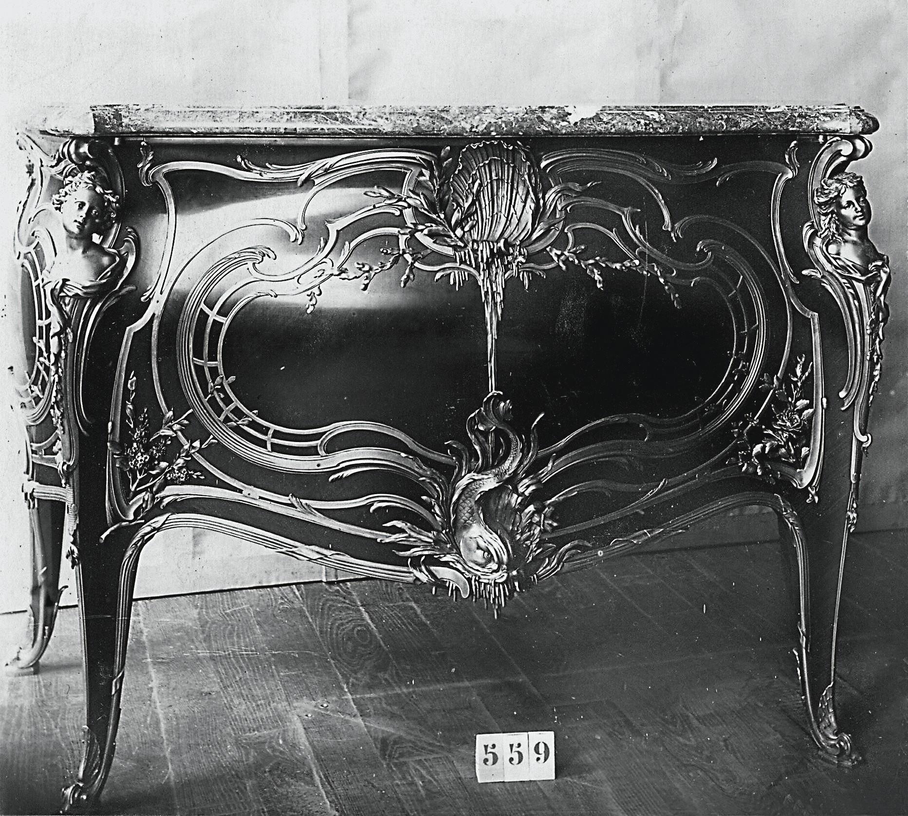 Ludlow FONDERIES 310x65mm Antique Fer Noir De Doigt Porte Poussoir De Doigt